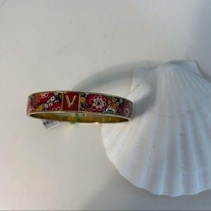 Vera Bradley Bangle Bracelet Floral Bittersweet